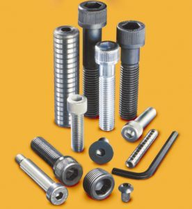 picture of a variety of metric fasteners