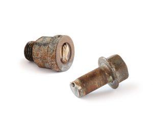 image of a roken fastener