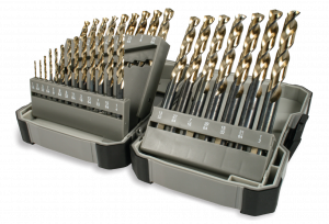 image of an RMT Jobber kit - set of drill bits