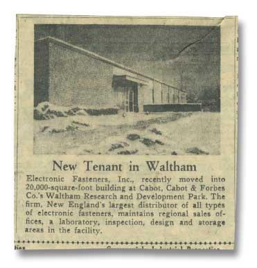 Newspaper Circa 1960's